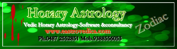 horary astrology, hindu astrology software consultancy and research, horary