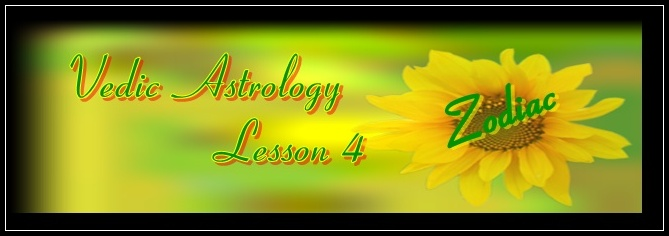 vedic astrology lesson 4, eastrovedica.com,hindu astrology software, research and consultancy
